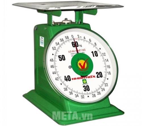 Cân đồng hồ Nhơn Hòa 60kg đảm bảo tính chính xác cao