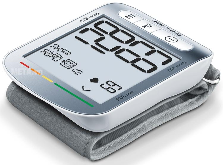 Máy đo huyết áp cổ tay Beurer BC50 có trọng lượng nhẹ