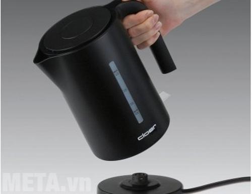 Bình đun nước siêu tốc Cloer có chế độ tự ngắt điện khi nước sôi
