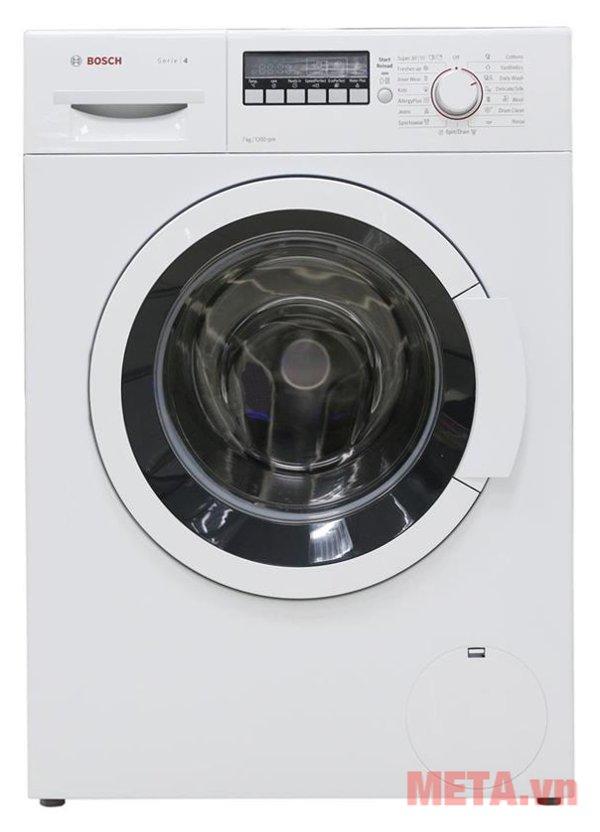 Máy giặt cửa trước Bosch WAK24260SG thiết kế hiện đại, tính năng tiên tiến