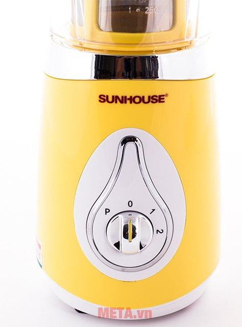 Nút vặn điều chỉnh tốc độ của máy xay sinh tố đa năng Sunhouse SHD5321