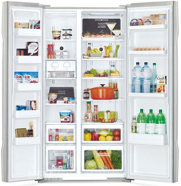Tủ lạnh 605 lít Hitachi S700GPGV2 thiết kế nhiều ngăn