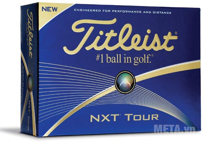 Bóng golf Titleist NXT Tour 2016 T4024S-NP mang lại hiệu suất và khoảng cách tốt hơn
