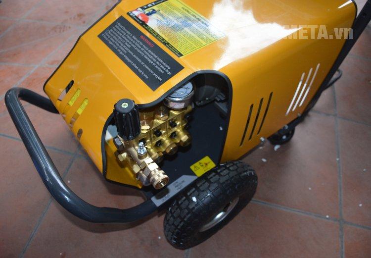 Máy rửa xe V-JET VJ 200/5.5 di chuyển dễ dàng