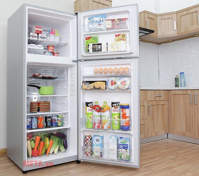 Tủ lạnh 260 lít Hitachi H310PGV4 (IX) kháng khuẩn, khử mùi hiệu quả