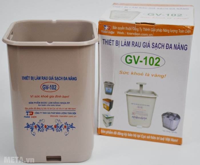 Máy làm giá sạch đa năng GV-102 và phụ kiện đi kèm