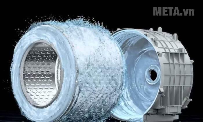 Máy giặt cửa trên 15kg Hitachi SF- 150XTV có chế độ tự vệ sinh lồng sạch