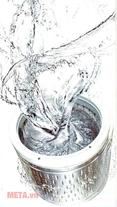 Máy giặt cửa trên 15kg Hitachi SF- 150XTV đánh bật vết bẩn hiệu quả