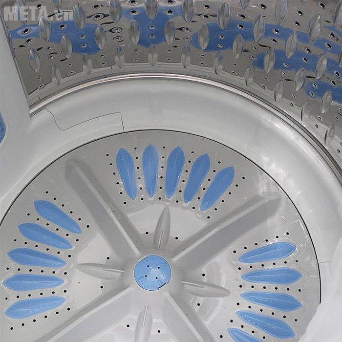 Máy giặt cửa trên 13kg Hitachi SF- 130SS có chế độ Eco thông minh giúp tiết kiệm điện hiệu quả