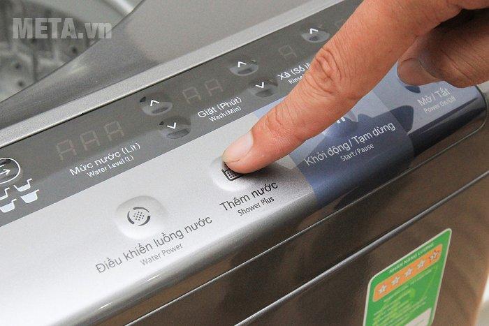 Máy giặt cửa trên 13kg Hitachi SF- 130XTV có 11 chương trình giặt đa dạng