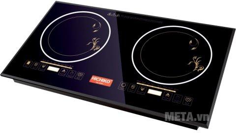 Hình ảnh của bếp hồng ngoại đôi Hichiko HC-2601