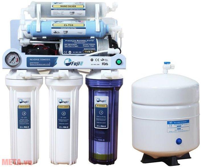 Hình ảnh Máy lọc nước tinh khiết RO thông minh FujiE RO-06 (6 cấp lọc)