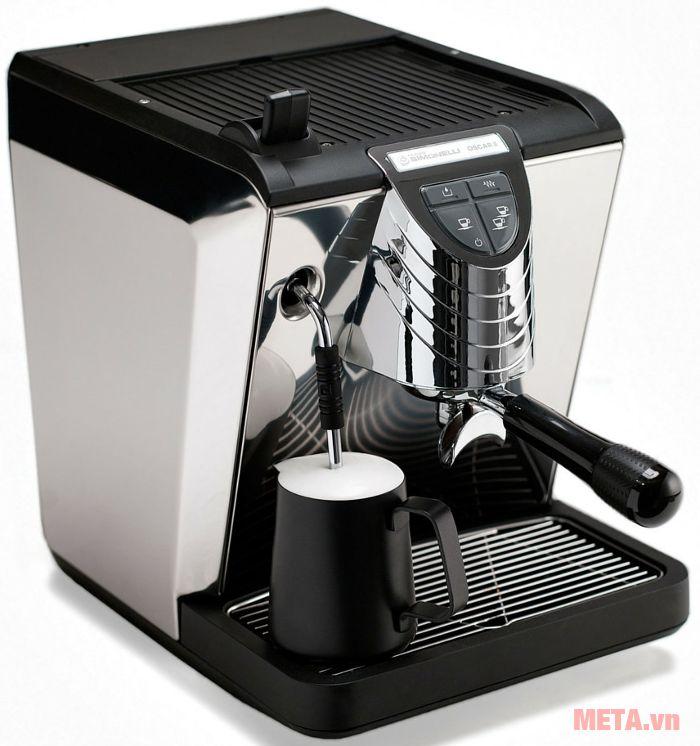Máy pha cà phê Nuova Simonelli Oscar II có thể tháo rời khay nước thải