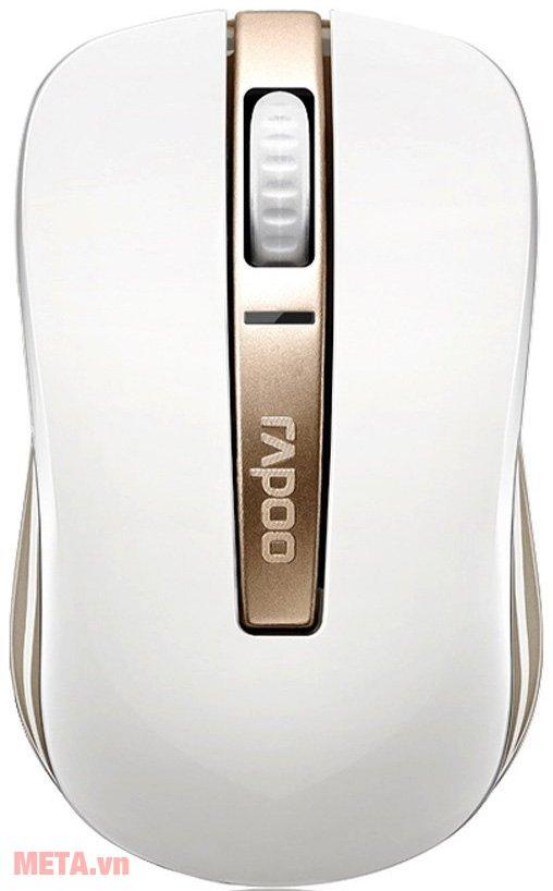 Chuột không dây Rapoo 6610 NEW màu trắng sang trọng.
