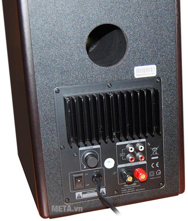 Loa Microlab SoLo 7C dễ dàng kết nối