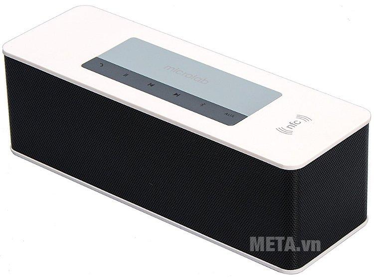 Loa Bluetooth Microlab MD215 dễ dàng mang theo bên mình
