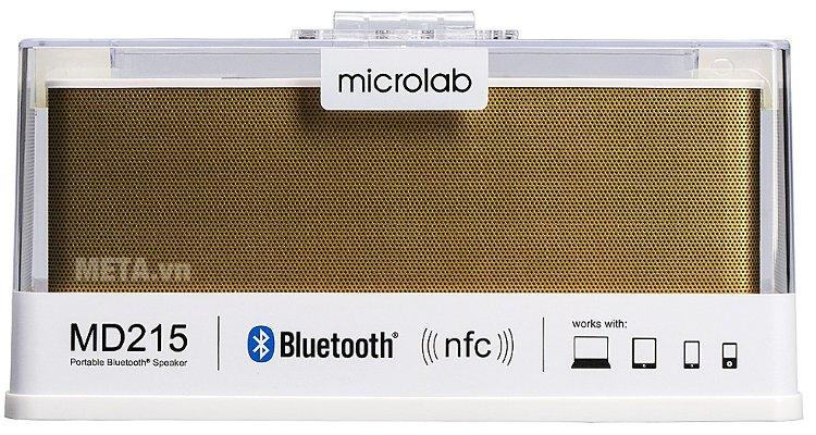 Loa Bluetooth Microlab MD215 kết nối không dây bluetooth