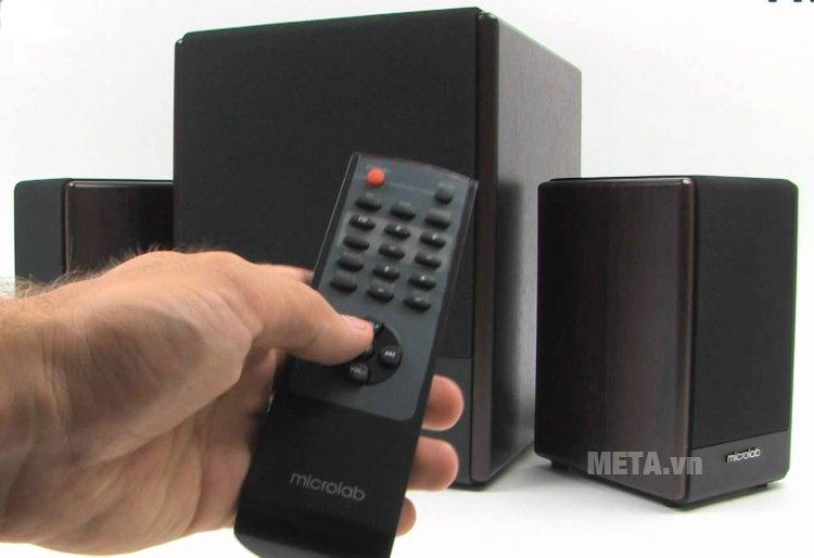 Loa máy tính Microlab FC530U có điều khiển từ xa tiện lợi