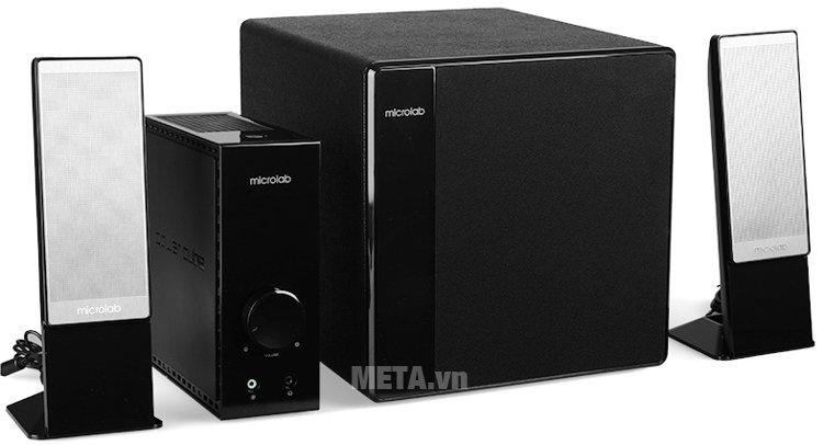 Loa Microlab FC362 - 2.1 cho âm thanh mạnh mẽ