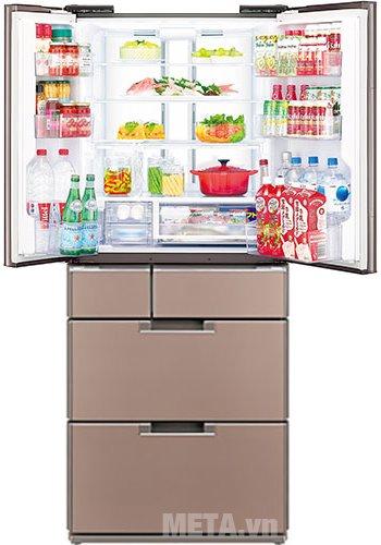 Tủ lạnh 470 lít Sharp SJ-GF60A-T cho khả năng lam lạnh nhanh