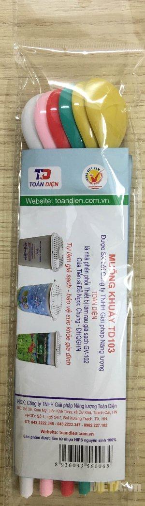 Thìa nhựa GV-102 - quà tặng cho máy trồng giá đỗ GV-102 bằng nhựa