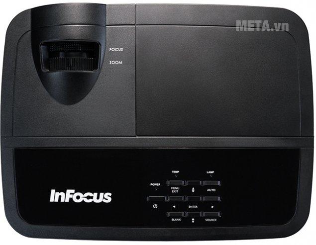 Máy chiếu InFocus IN2126a thiết kế nổi bật, cho khả năng kết nối mạng