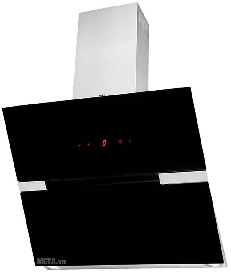 Máy hút mùi Amica OKC951S được thiết kế sang trọng, hiện đại, đường nét tinh tế