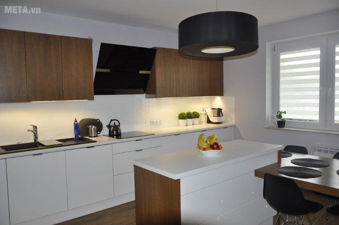 Máy hút mùi Amica OKC951S phù hợp với không gian bếp gia đình bạn