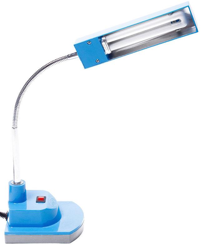 Đèn bàn compact V-light sử dụng bóng với công suất 9w tiết kiệm điện năng