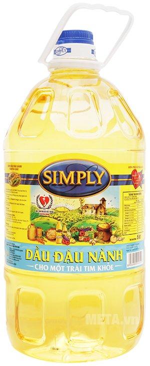 Hình ảnh của dầu đậu nành Simply 5 lít