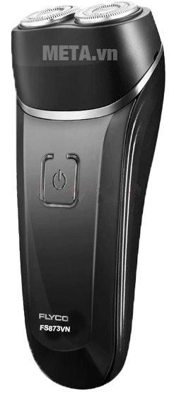 Máy cạo râu Flyco FS-873VN được thiết kế hệ thống lưỡi dao kép xoay vòng
