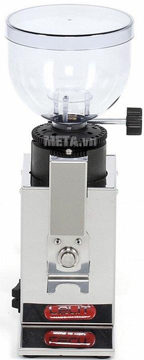 Máy xay cà phê Lelit Fred PL043MMI có vỏ ngoài được làm bằng chất liệu thép không gỉ