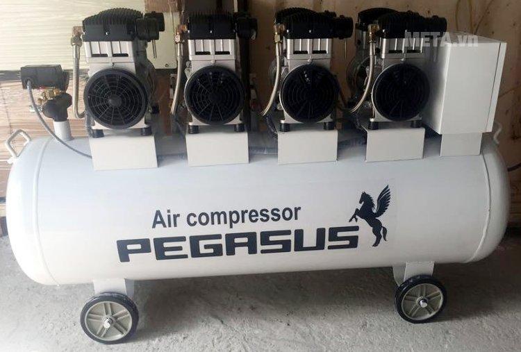 Máy nén khí không dầu, giảm âm Pegasus TM-OF1100x4-300L (6HP)