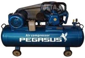 Hình ảnh của máy nén khí dây đai Pegasus TM-W-0.36/8-230L (4HP)
