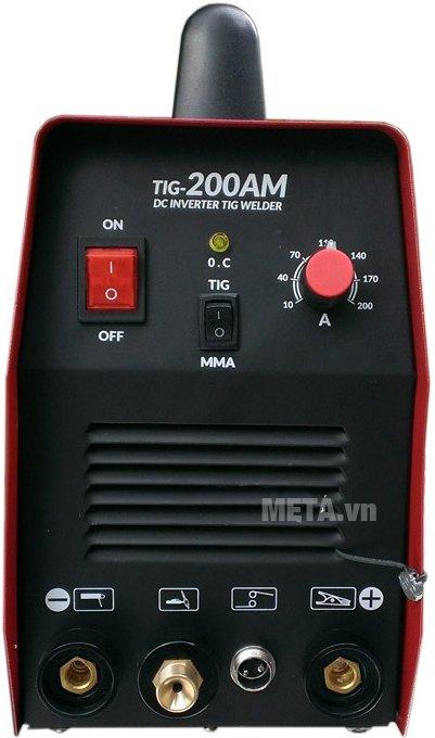 Máy hàn điện tử Legi TIG-200AM-D sử dụng an toàn