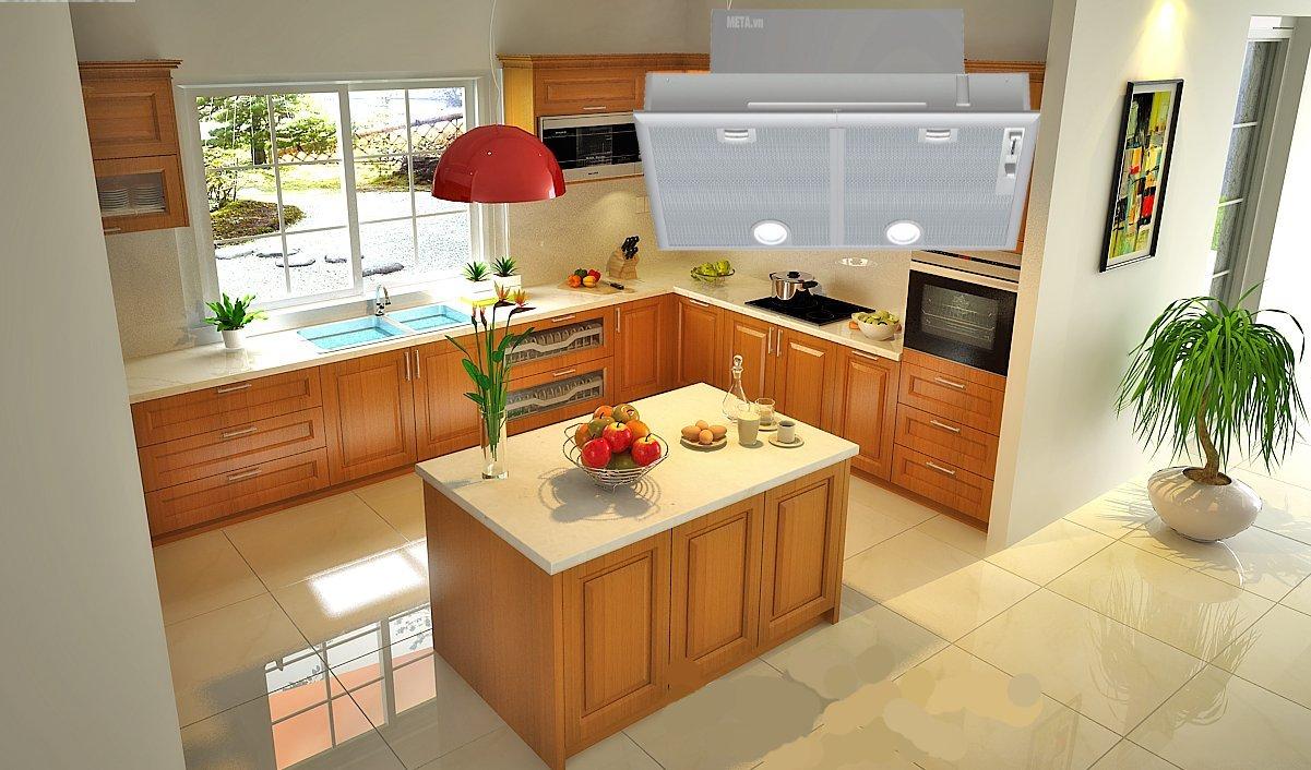 Máy hút mùi Bosch DHL755B giúp khử sạch mùi cho căn bếp