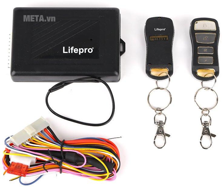 Bộ điều khiển khóa cửa ôtô Lifepro L580-RC 12V