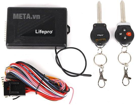 Bộ điều khiển khóa cửa ôtô Lifepro L581-RC 12V