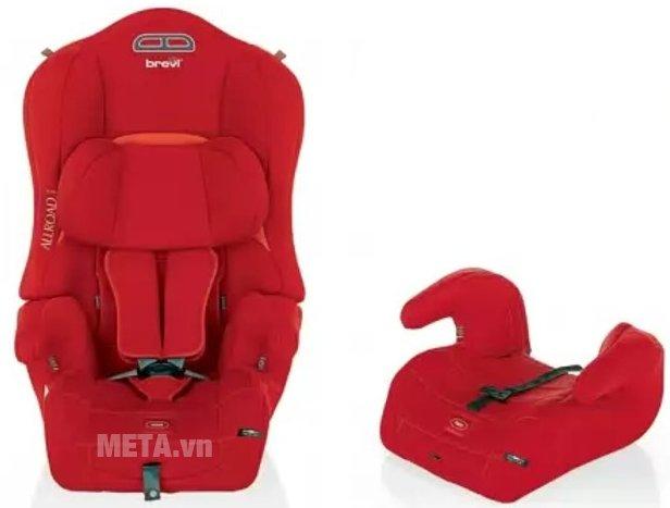 Hình ảnh ghế ngồi ô tô cho bé Brevi Allroad BRE511-233