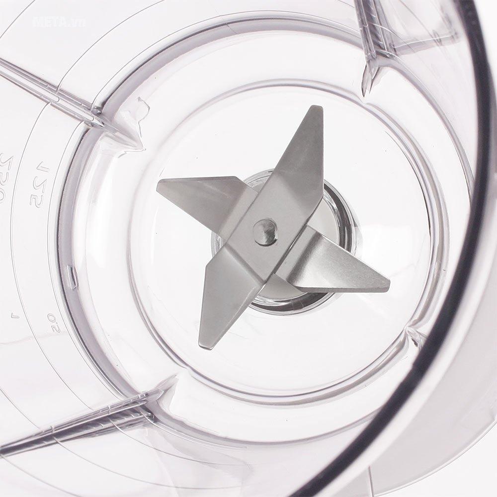 Máy xay sinh tố Philips HR2051 với lưỡi dao làm bằng thép không gỉ