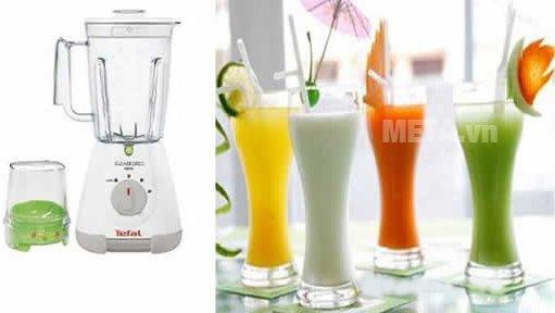 Máy xay sinh tố Tefal BL3071 cho bạn những ly sinh tố thơm ngon, bổ dưỡng