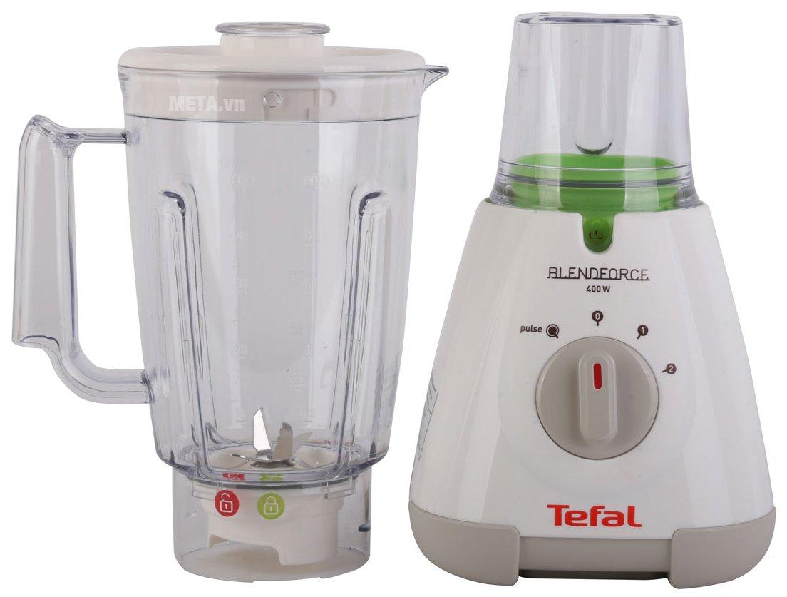 Máy xay sinh tố Tefal BL3071 có kiểu dáng thiết kế đơn giản, mang đến sự thuận tiện khi sử dụng