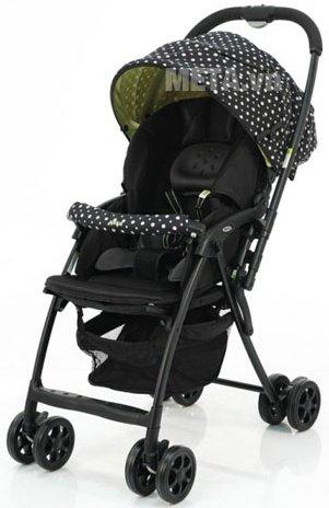 Xe đẩy trẻ em Aprica Karoon Plus BK thiết kế vô cùng tiện lợi