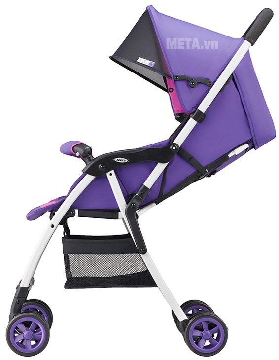Xe đẩy trẻ em Aprica Magical Air Prism Violet PP có trọng lượng siêu nhẹ