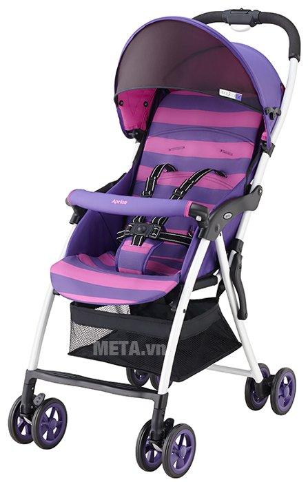 Hình ảnh xe đẩy trẻ em Aprica Magical Air Prism Violet PP