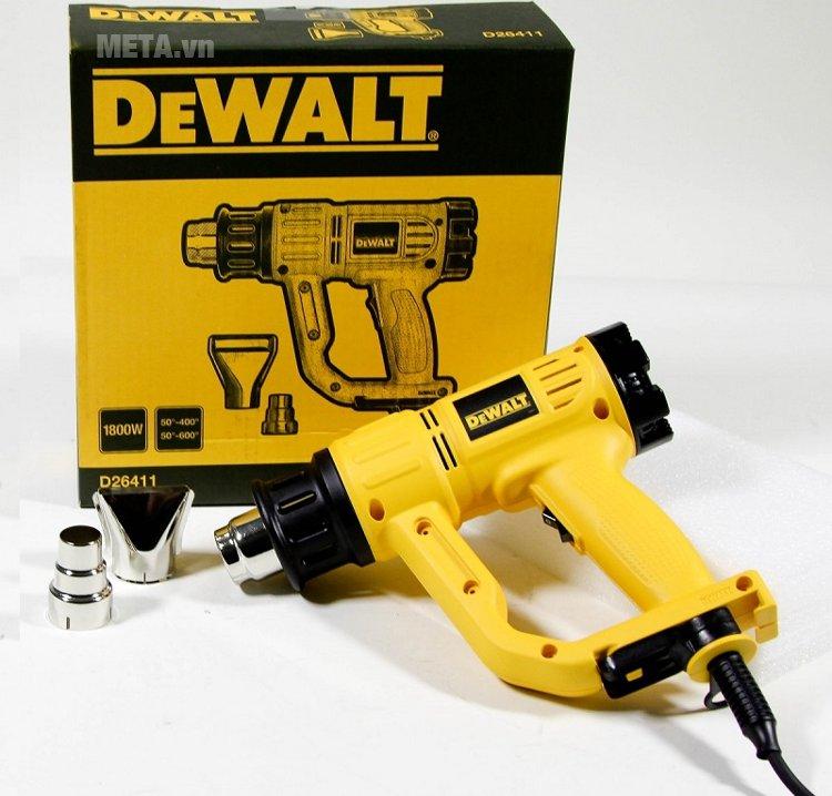 Hình ảnh của máy thổi hơi nóng 1.800W DeWalt D26411