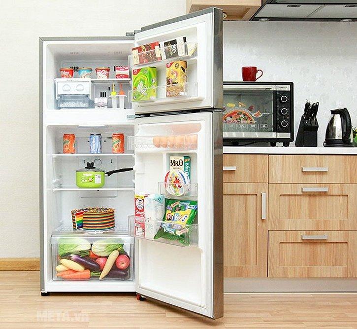 Tủ lạnh 225 lít LG GN-L225PS-DL0200732 giúp lưu trữ thực phẩm lâu hơn