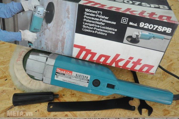 Máy chà nhám, đánh bóng Makita 9207SPB có khả năng chịu lực tốt