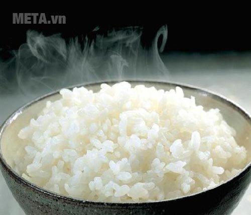 Nồi cơm điện Zojirushi NH-SQ18-WB - 1,8 lít cho hạt cơm thơm ngon, chín đều
