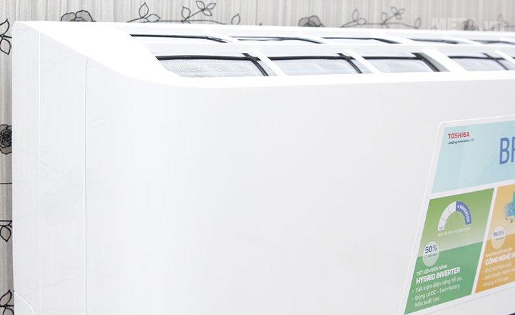 Điều hòa Toshiba 17700 BTU RAS-H18BKCV-V/H18BACV-V thiết kế tinh tế